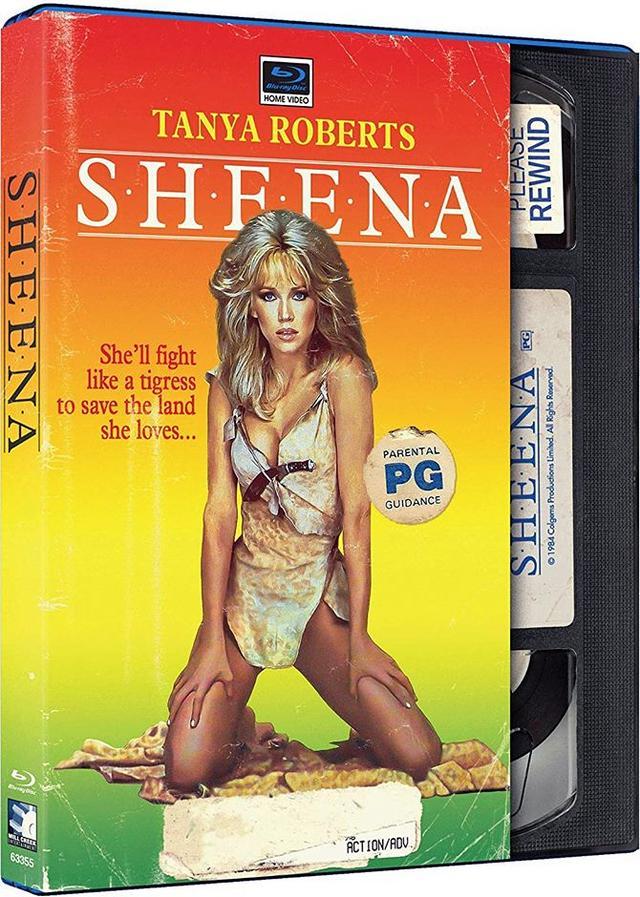画像: Feb 19, 2019 SHEENA/シーナ (1984) 監督ジョン・ギラーミン:主演タニア・ロバーツ 国内BLU-RAY未発売