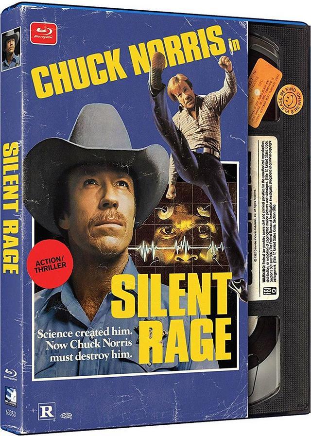 画像: SILENT RAGE/バイオニック・マーダラー (1982/日本未公開) 監督マイケル・ミラー:主演チャック・ノリス 国内BLU-RAY/DVD未発売