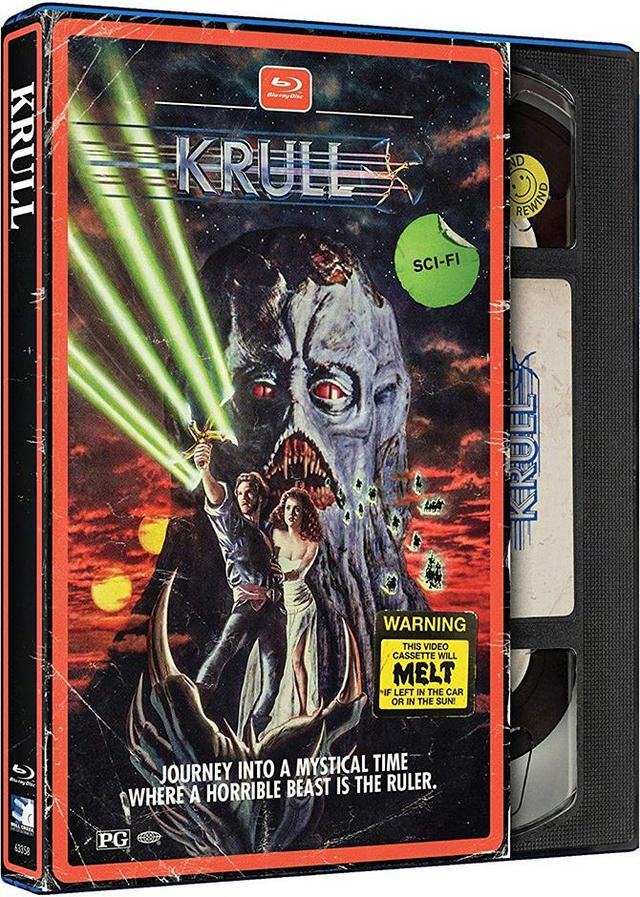 画像: KRULL/銀河伝説クルール (1983) 監督ピーター・イエーツ:主演ケン・マーシャル 国内BLU-RAY未発売