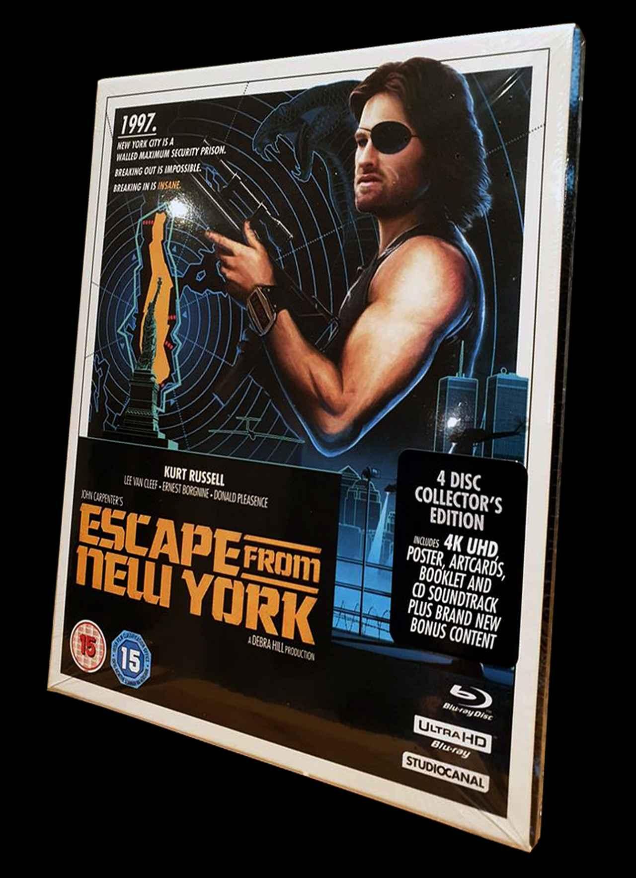 画像: 4K UHD BLU-RAY レビュー『ニューヨーク1997』ジョン・カーペンター監督 【世界4K-Hakken伝】