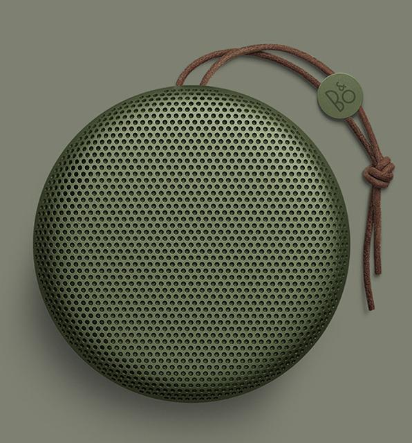 画像: アルミとレザーによるドーム型のBluetoothスピーカー「BeoPlay A1」は、B&O PLAYのスピーカーで最小サイズ | Stereo Sound ONLINE
