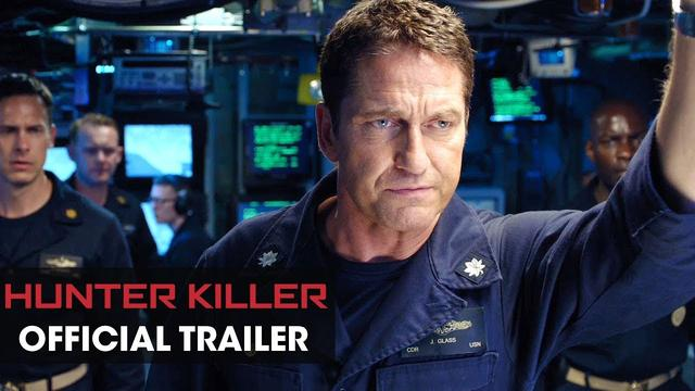 画像: Hunter Killer (2018 Movie) Official Trailer – Gerard Butler, Gary Oldman, Common www.youtube.com