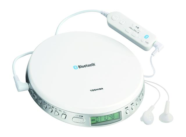 画像: Bluetooth送信機能付きポータブルCDプレーヤー「TY-P3」