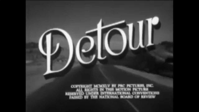 画像: Detour (1945) Trailer www.youtube.com