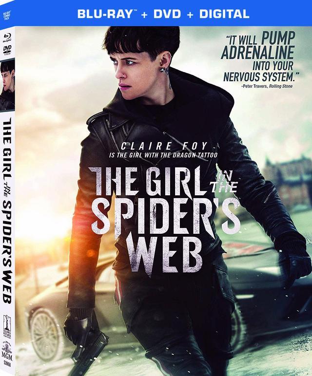 画像: 世界的ベストセラー『ミレニアム』シリーズ最新作を映画化『蜘蛛の巣を払う女』【海外盤Blu-ray発売情報】