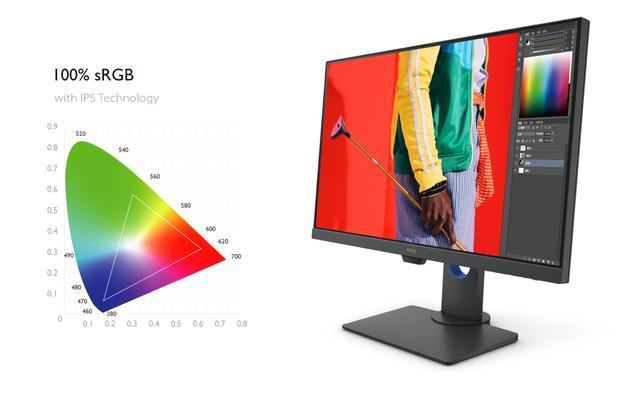 画像1: ベンキューから、超高解像度4K UHDとHDR表現を実現したディスプレイが登場。