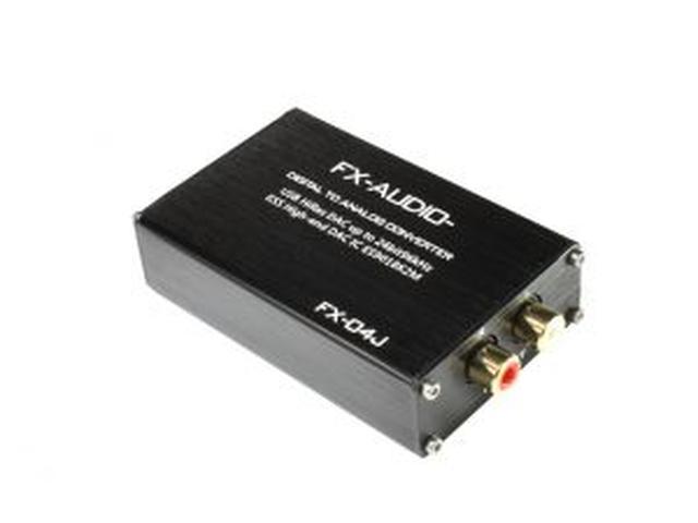 画像: ハイエンドモバイルオーディオ用DAC ES9018K2M搭載のハイレゾ対応バスパワー駆動DAC FX-AUDIO- 『FX-04J』を発売   North Flat Japan(株式会社ノースフラットジャパン公式)
