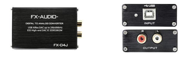 画像: FX-AUDIO-から、「ES9018K2M」搭載のポータブルDAC「FX-04J」登場。96kHz/24bitまでのPCMに対応。価格は3580円!