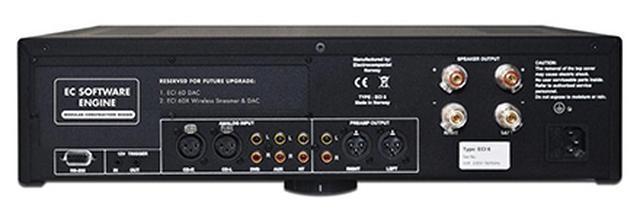 画像: エレクトロコンパニエから、完全バランス駆動のプリメインアンプ「ECI 6」が登場。86万円!