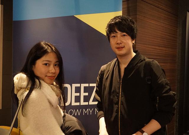 画像: インタビューに応じてくれた、高井優樹君と柏晏朱さん。貴重な感想をありがとうございました