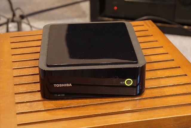 画像: 東芝TT-4K100 市場想定価格4万円前後