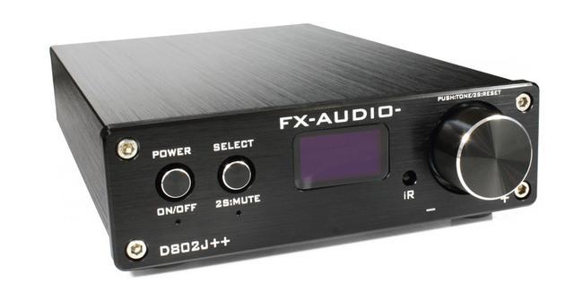 画像: FX-AUDIO-のフラグシッププリメインアンプ「D802J++」