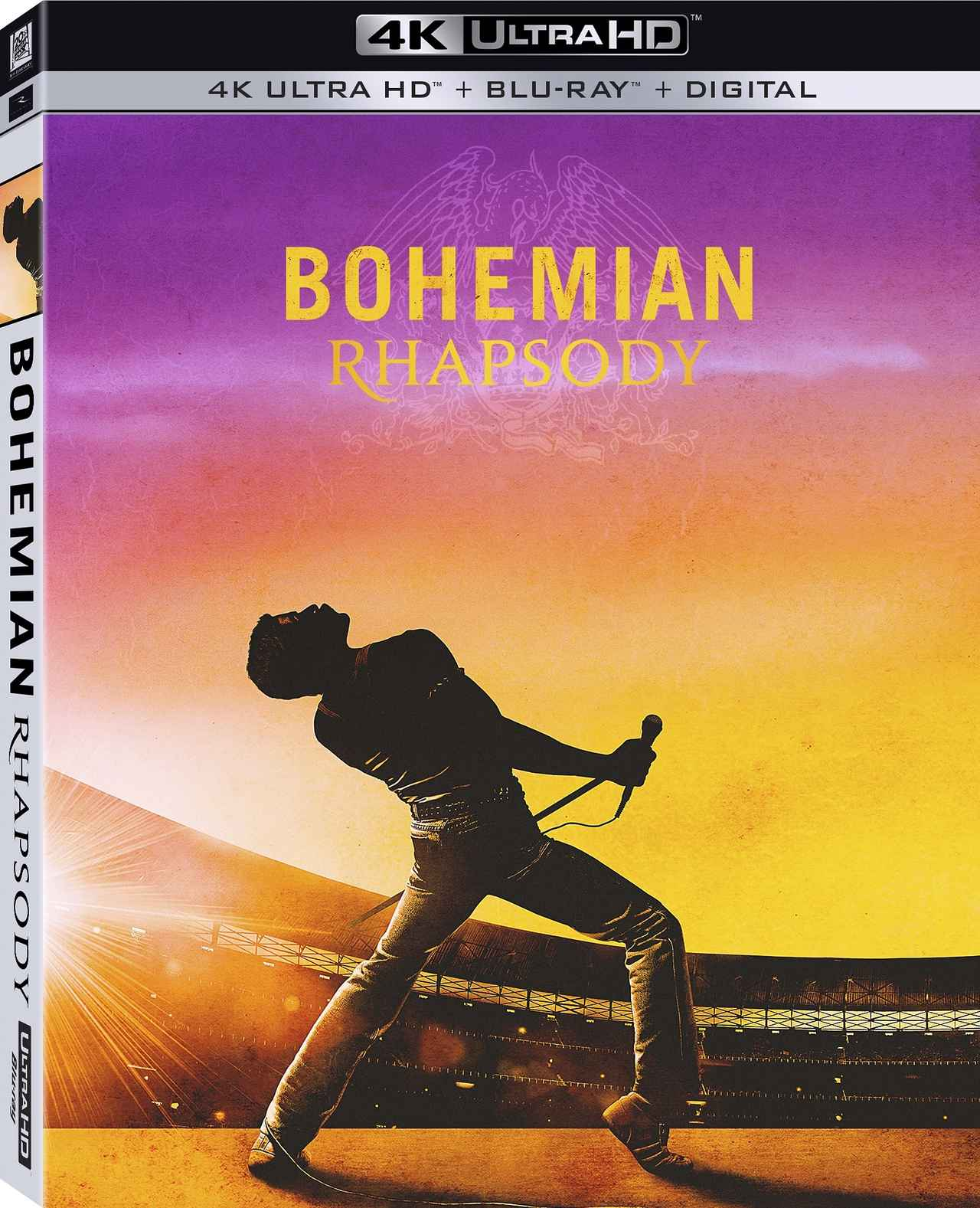 画像: 感動の音楽伝記映画を4K&アトモスで!『ボヘミアン・ラプソディ』【海外盤Blu-ray発売情報】