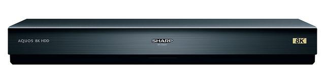画像: シャープ8R-C80A1 オープン価格(市場想定価格13万円前後) ●内蔵HDD容量:8Tバイト●接続端子:USB Type-B×1系統 ●特長:AQUOS 8K用USBハードディスク、新4K8K放送を約170時間録画可能、他●寸法/質量:W430×H58×D58mm/約3.6kg