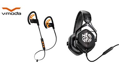 画像: Roland - Company - ニュースリリース - 2018 - DJに人気の「V-MODA」からスポーツに適したワイヤレス・イヤホンと、  ゲーム・メーカーSNK社とのコラボレーション・モデルの「NEOGEO」ヘッドホンを発売