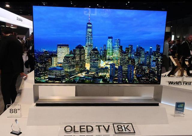 画像: LGエレクトロニクスのDolby Vision対応8Kテレビ