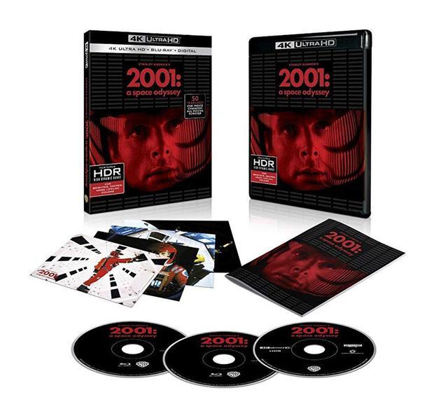 画像: 北米版の『2001年宇宙の旅』UHDブルーレイブルーレイ。日本版も昨年末に発売され、今でも品薄の人気作品だ