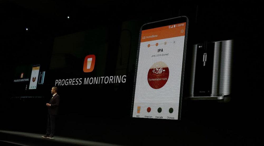 画像: スマホアプリで、進行状態をモニターできる