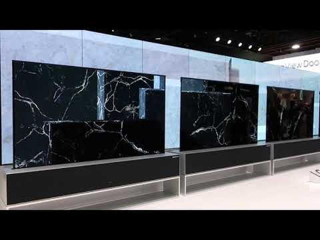 画像: 【麻倉怜士のCES2019レポート7】LGエレクトロニクスが、世界初の「巻き取り型4K有機ELテレビ」を発表。「消えるテレビ」は生活を変える - Stereo Sound ONLINE