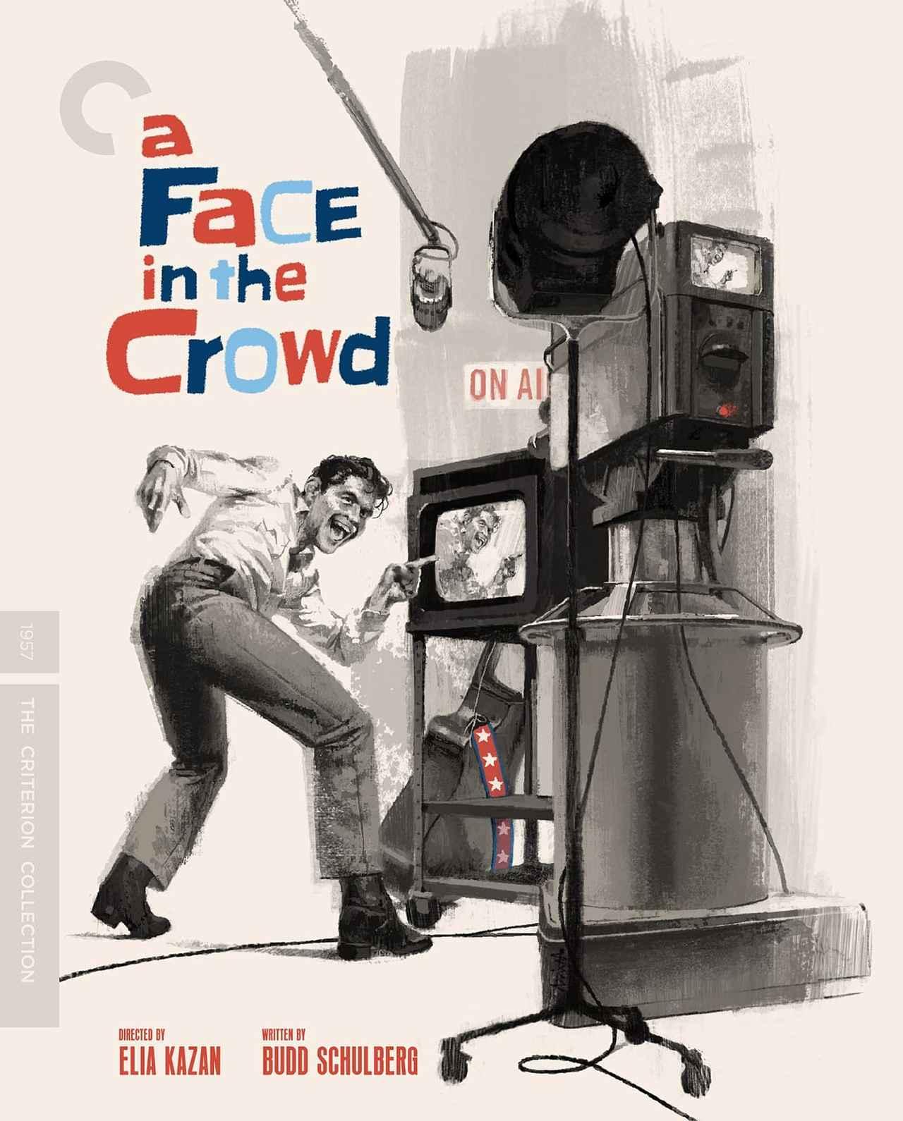 画像: エリア・カザン監督作『群衆の中の一つの顔』【クライテリオンNEWリリース】