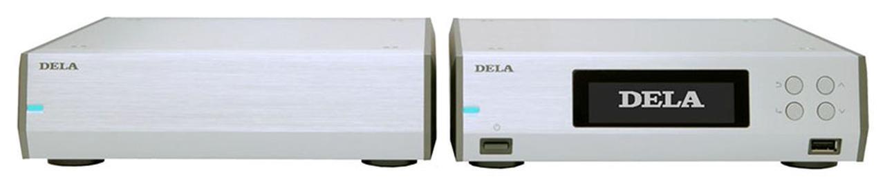 画像: セパレート電源ユニットを採用した、DELAのミュージックライブラリー新製品「N10」。9月下旬に¥648,000(税別)で発売 - Stereo Sound ONLINE