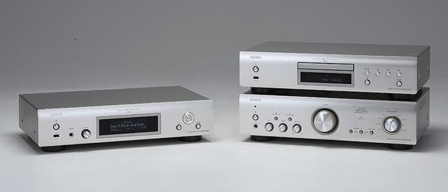 画像: 写真左:DNP-800NE  写真右上段: DCD-800NE 下段: PMA-800NE