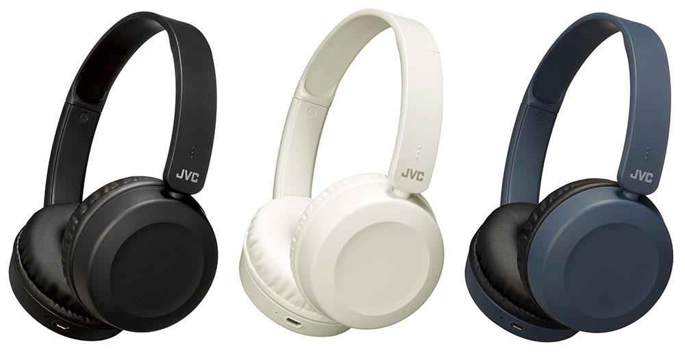 画像: Bluetooth対応ポータブルヘッドホン「HA-S48BT」は3色展開