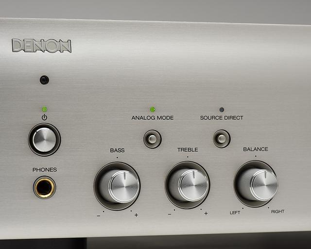 画像: ↑アナログ入力時にデジタル回路を停止して高周波ノイズを抑える「アナログモード」を装備