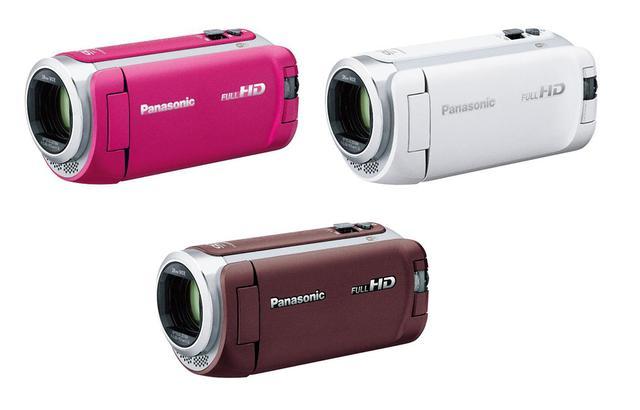 画像: HC-W590M/WZ590Mは、ブラウン、ホワイト、ピンクの3色を準備している