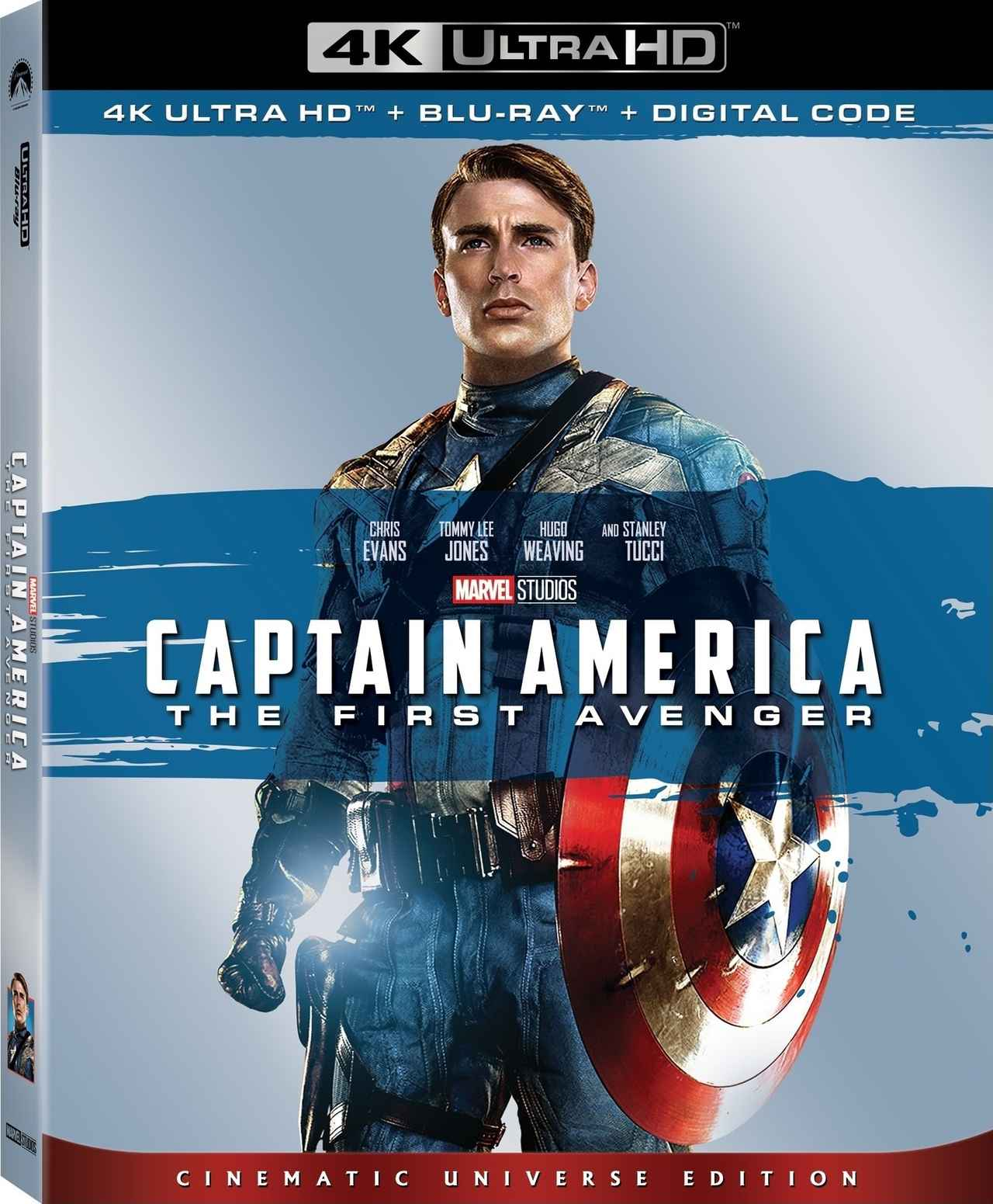画像: 大人気シリーズ第1作が4Kリリース『キャプテン・アメリカ ザ・ファースト・アベンジャー』【海外盤Blu-ray発売情報】