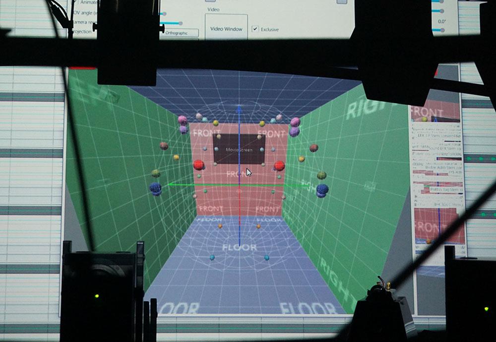 画像: 音源の制作ツール。画面上の任意の箇所にオブジェクト音源を配置可能