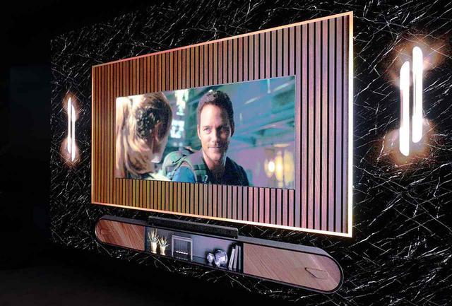 画像: サムスンの6K/219型超大画面ディスプレイ「The Wall」