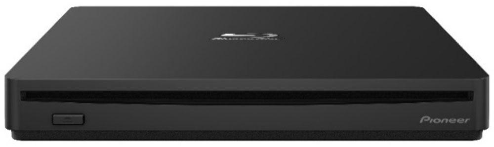 画像: Windows用ポータブルBD/DVD/CDライターのプレミアムモデル「BDR-XS07B-UHD」が、パイオニアから発売される。UHDブルーレイ再生や、オーディオCDの高品質再生を実現