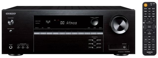 画像1: オンキヨーから、5.2ch AVセンター「TX-SR393」が2月下旬に発売。Dolby AtmosとDTS:Xに対応済みで、価格は¥49,000