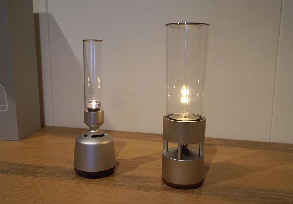 画像: 前モデルのLSPX-S1(右)に比べると、かなりすっきり、コンパクトになった。なおLSPX-S1も併売される