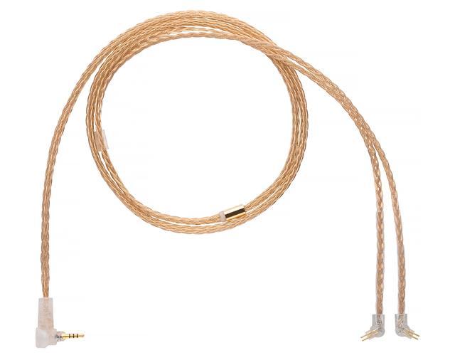 画像2: 米ALO audio、導体に「金」を採用したフラグシップIEM ケーブル「Gold 16 IEM Cable」のカスタム2pin 端子対応モデルを発売