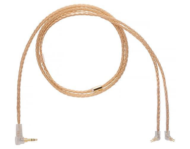 画像1: 米ALO audio、導体に「金」を採用したフラグシップIEM ケーブル「Gold 16 IEM Cable」のカスタム2pin 端子対応モデルを発売