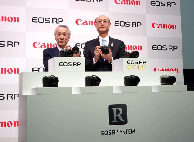 画像1: キヤノン、フルサイズミラーレスの新製品「EOS RP」を3月中旬に発売。RFレンズのニューモデル6本も、2019年発売をアナウンス