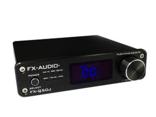 画像: TAS5342・TAS5508搭載 最大50W出力 2.1ch対応 フルデジタルプリメインアンプ FX-AUDIO- 『FX-Q50J』を新発売 | North Flat Japan(株式会社ノースフラットジャパン公式)