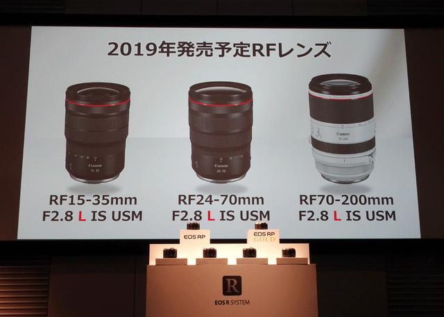 画像2: キヤノン、フルサイズミラーレスの新製品「EOS RP」を3月中旬に発売。RFレンズのニューモデル6本も、2019年発売をアナウンス
