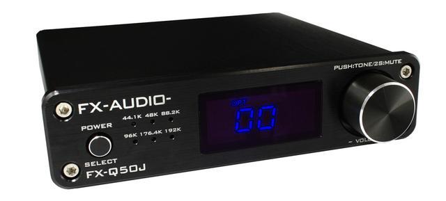 画像: 2.1ch対応のプリメインアンプ「FX-Q50J」