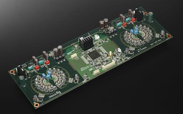 画像: 新搭載されたMaster Sound Discrete DAC基板