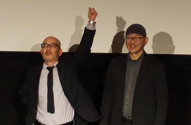 画像: 特撮監督の尾上克郎氏(左)と三池敏夫氏(右)