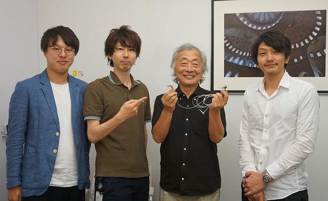 画像: 取材に協力いただいた皆さん。左から増山翔平さん、桑原英二さん、飛世速光さん