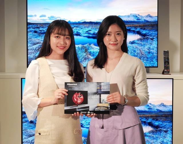 画像: CAMPUS ROOMメンバーの田村りな(左)と大野南香(右)