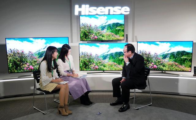 画像2: ハイセンスジャパン、有機ELテレビのフラッグシップモデル「55E8000」を4月に投入し、「国内シェア10%を狙う」と宣言。価格は23万円!