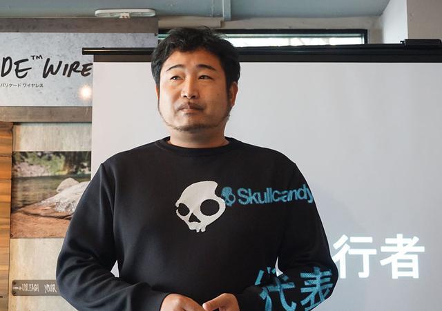 画像: スカルキャンディジャパンの代表執行者の大石哲也氏