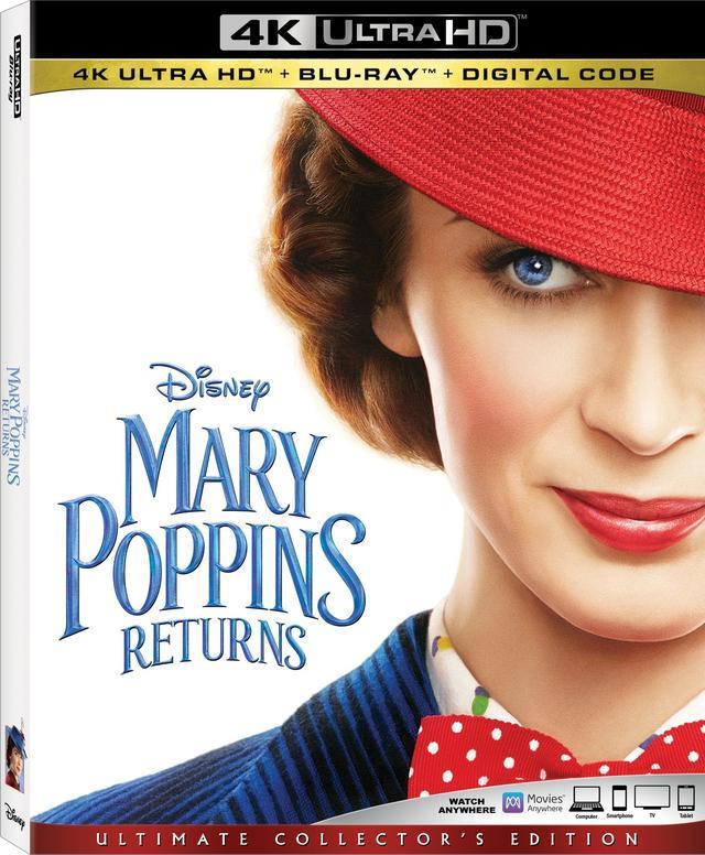 画像: 名作ミュージカルの55年ぶりの続編『メリー・ポピンズ・リターンズ』【海外盤Blu-ray発売情報】