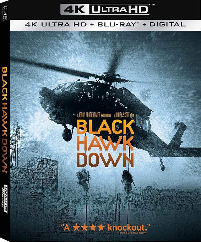 画像: リドリー・スコット監督実録戦争アクション『ブラックホーク・ダウン』【海外盤Blu-ray発売情報】