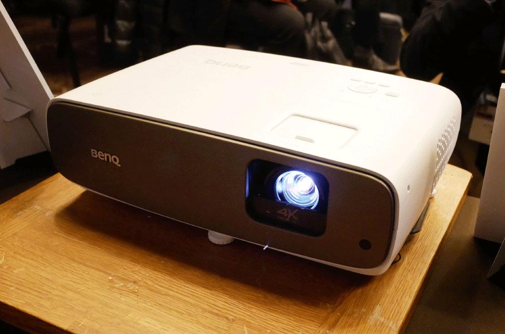 画像: 新製品の4K/HDR対応プロジェクター「HT3550」